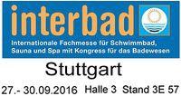 INTERBAD 2016 in Stuttgart